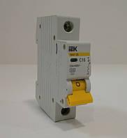Автоматический выключатель IEK ВА 47-29 1Р С 6А