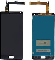 Дисплей (экран) для телефона Lenovo Vibe P1 + Touchscreen Original Black