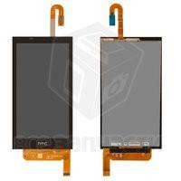 Дисплейный модуль для мобильного телефона HTC Desire 610, черный