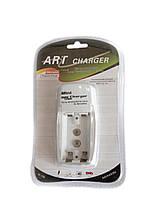 Универсальное зарядное устройство ART charger mini M 106 + charging for battery KRONA