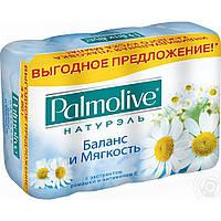"""Мыло PALMOLIVE Натурэль """"Баланс и мягкость"""" 4*90г"""