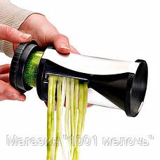Терка для овощей Spiral Slicer, овощерезка Спираль Слайсер, фото 2