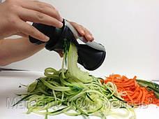 Терка для овощей Spiral Slicer, овощерезка Спираль Слайсер, фото 3
