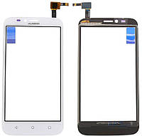 Сенсор (тачскрин) для Huawei Ascend Y625 Original White