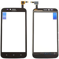Сенсор (тачскрин) для Huawei Ascend Y625 Black