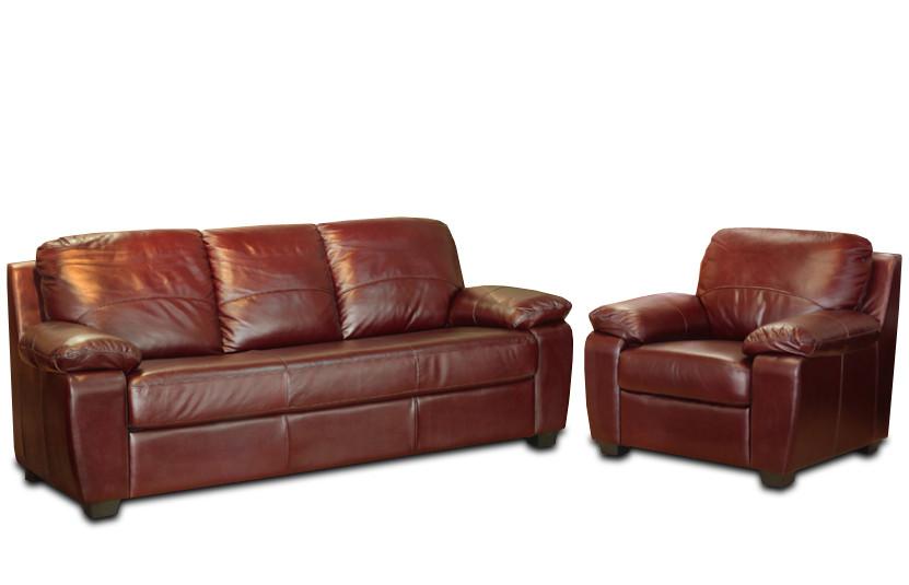 Шкіряний комплект меблів Колорадо (3+1), м'які меблі, меблі в шкірі, шкіряні меблі, комплект меблів