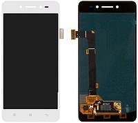 Дисплей (экран) для телефона Lenovo S90 + Touchscreen Original White