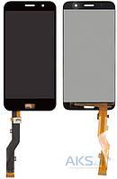 Дисплей (экран) для телефона Lenovo Zuk Z1 + Touchscreen Original Black