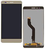 Дисплей (экран) для телефона Huawei Honor 5X, X5, GR5 + Touchscreen Original Gold