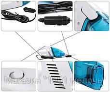 Автопылесос Portable Car Vacuum Cleaner - голубой, фото 3
