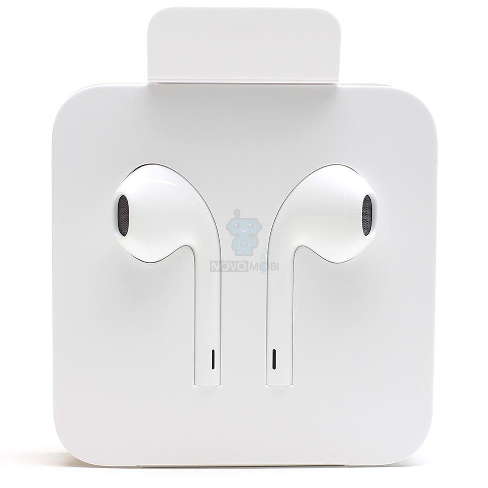 Оригинальные наушники Apple EarPods с пультом дистанционного управлени