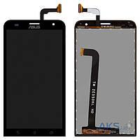 Дисплей (экран) для телефона Asus ZenFone 2 Laser ZE551KL + Touchscreen