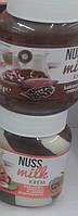 Шоколадно ореховая паста Nussa milk 400g