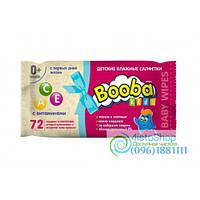 Детские Влажные Салфетки Booba 72 Шт