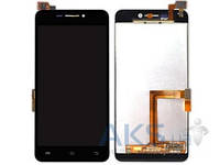 Дисплей (экран) для телефона Vivo X3, X3T + Touchscreen Original Black