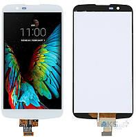 Дисплей (экран) для телефона LG K10 K420N, K430DS, K430DSF, K430DSY + Touchscreen Original White