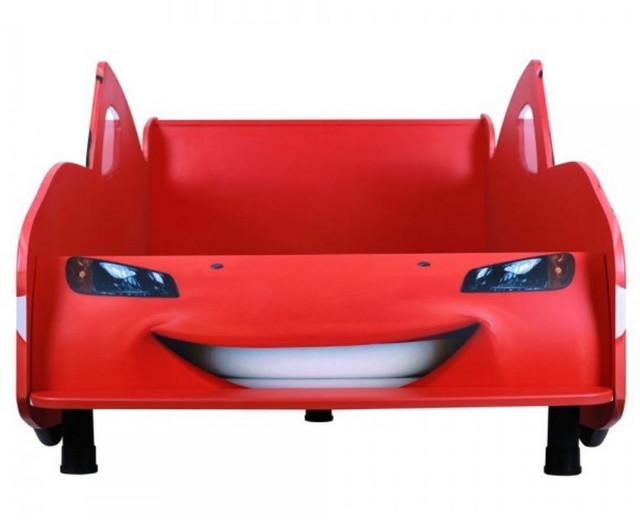 Кровать Тачки Дизайн Дисней Тачки Молния Маккуин гонки (фото 3)