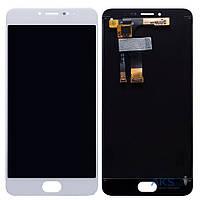 Дисплей (экраны) для телефона Meizu M3 Note L681 + Touchscreen Original White