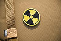 Нашивка Радиация круглая 50 мм