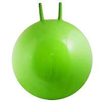 Мяч для фитнеса детский с рожками 65 см 400165. Распродажа!, фото 1