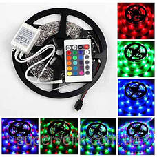 Лента светодиодная RGB SMD3528+Пульт+Контроллер+Блок питания. В силиконе!, фото 2