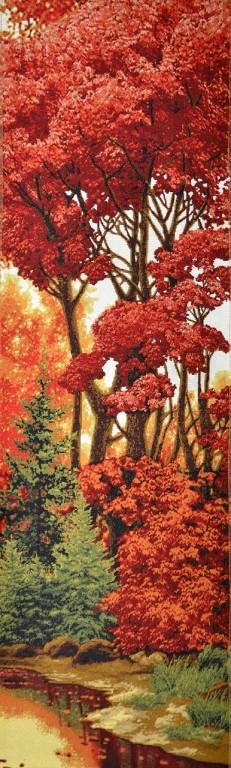 """Картина гобеленовая """"Багряный лес"""""""