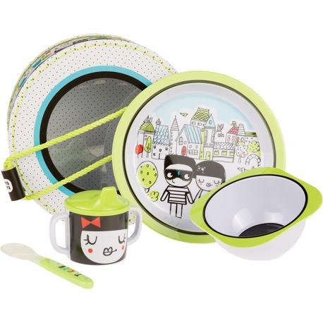 Набор детской посуды, Tuc Tuc  PEOPLE для девочки