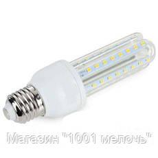 Лампочка LED LAMP E27 9W Длинная 4019, фото 3