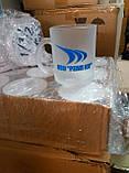 Чашки прозрачные матовые Frozen под деколирование, фото 10