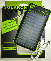 SolarCharger Power Bank 8000mAh + фонарь LED