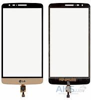 Сенсор (тачскрин) для LG G3 Stylus D690 Original Gold