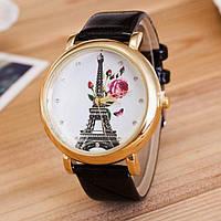 Часы женские с лакированным ремешком (Black)