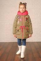 "Куртка ""Парка"" для девочки на весну"