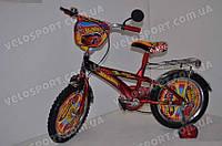 Детский велосипед Mustang Hotwheels 16 дюймов цвет красный