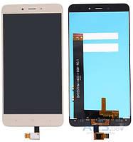 Дисплей (экраны) для телефона Xiaomi Redmi Note 4 + Touchscreen Original Gold