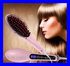 Расческа выпрямитель Fast Hair 906 с Led дисплеем!Акция, фото 2