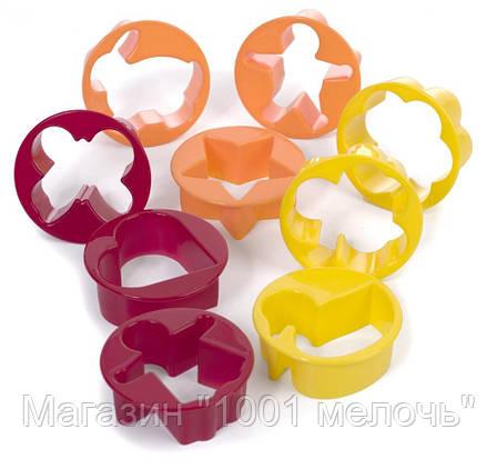 Скалка для раскатки теста с формочками для фигурного печенья Roll and Store Pin!Акция, фото 2