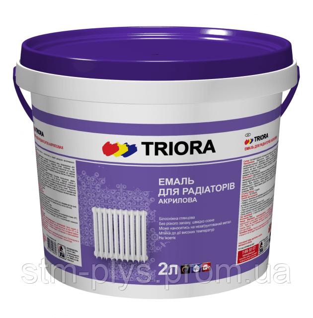 Эмаль акриловая для радиаторов Триора