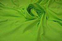 Ткань Бифлекс Неон-салатовый