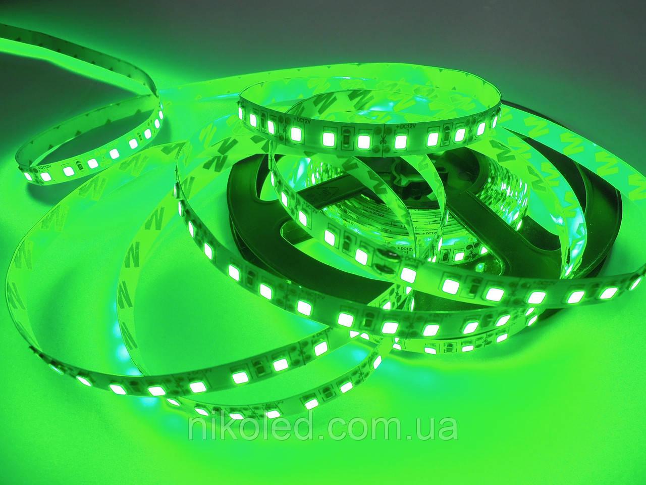 Світлодіодна стрічка стандарт 2835-120 5 Лм Зелений