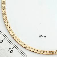 Цепочка позолоченная 45 см