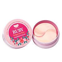 Гидрогелевые патчи для глаз с рубином и болгарской розой Koelf Ruby & Bulgarian Rose Hydrogel Eye Patch