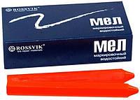 Мел для резины восковый красный (Rossvik)