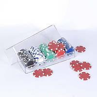 """Набор """"DUKE"""" для покера: 100 фишек в пластиковом кейсе"""