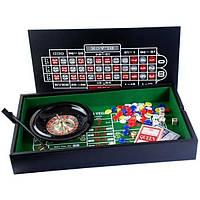 """Набор """"DUKE"""": рулетка, мини покер с фишками"""