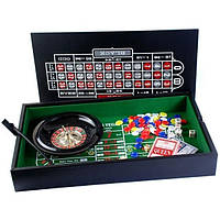 """Набор """"DUKE"""": рулетка, мини покер с фишками 38-2820"""