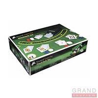 """Набор """"DUKE"""" """"Крупье"""" (игр.сукно,шуз для раздачи карт, 200 фишек, карты """"DUKE"""" пластиковые)"""