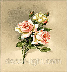 """Гобеленова Картина """"Букетик троянди"""""""