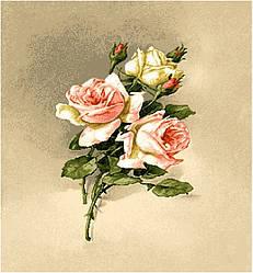 """Картина гобеленовая """"Букетик розы"""""""