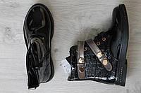 Ботинки лаковые на девочку тм JG р.35